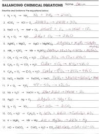 lancing equations practice worksheet answers gallery answer key unique templates medium balancing chemical