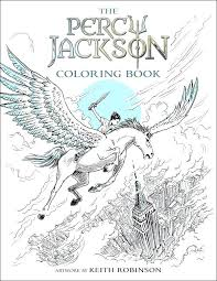 percy jackson coloring pages giveaway the book olympians