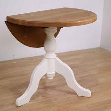 inspiring round drop leaf table with farrow ball painted round drop leaf pedestal table all sizes