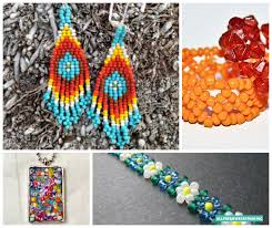 Seed Bead Patterns Custom Making Jewelry With Seed Beads 48 Seed Bead Patterns