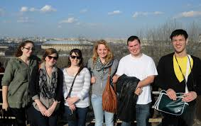 work in and concerning russia students in moscow