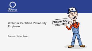 ingeniera de mantenimiento certified reliability engineer