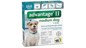 Advantage Ii For Dogs Dosage Fleascience
