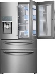 smudge proof refrigerator. Perfect Smudge Ft 4Door French Door Refrigerator  Stainless Steel With Smudge Proof R