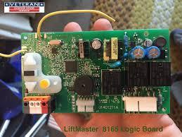 lift master 8165 logic board