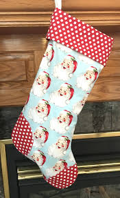 Christmas Stocking Sewing Pattern Enchanting The Night Before Christmas Stocking PDF Sewing Pattern Max Meena