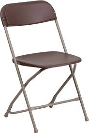flash furniture 10 pack hercules series plastic folding chair 800 pound capacity premium brown