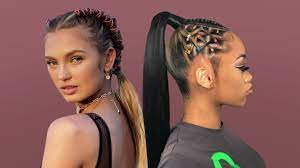 Ponytail hairstyles packing gel hairstyles 2020 gel hairstyles for women weavon hairstyles natural hairstyles for black women. 15 Cute And Fun Rubber Band Hairstyles For 2021 The Trend Spotter