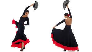 Resultado de imagen de vestidos para bailar flamenco
