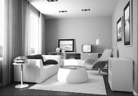 Monochrome Living Room Decorating Living Room Small Ideas With Tv In Corner Popular Foyer Basement