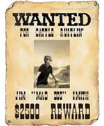 Make A Wanted Poster Wanted Poster Ideas Western Crafts Wanted