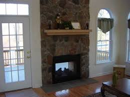 double sided fireplace indoor outdoor fireplace used in the model home is that it is a