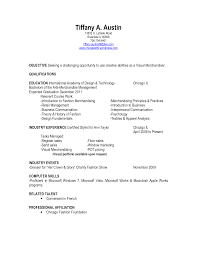 Cosmetic Counter Manager Resume Resume For Your Job Application