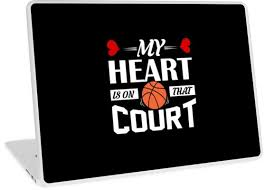 Basketball Team Quotes Beauteous My Heart Is On That Court Basketball Shirt Basketball Coach Gift