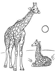 Giraffe Coloring Page Design It Giraffe Coloring Pages Free
