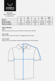 Mens Tops Size Chart Polo T Shirts Outlet Official Online Shop