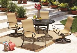 cool patio furniture ideas. furniturecool outdoor aluminum furniture ideas with round dark brown painted chair combine cool patio