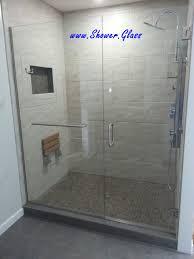 opus 1 shower glass hardware double robe hook