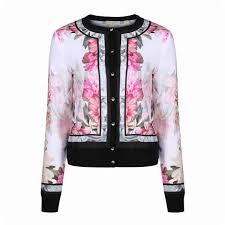 gorgeous ted baker women s kallai painted posie woven er jacket baby pink