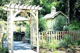garden arch trellis gardenia oil wooden arches alluring uk
