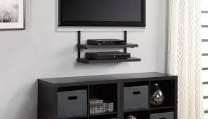 floating glass diy open shelf mounted entertainment unit ideas wall storage mount corner shelves plans designs
