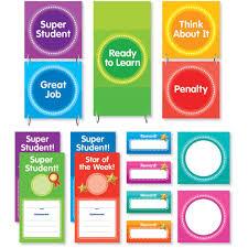 Behaviour Clip Chart Color Your Classroom Behavior Clip Chart Mini Bulletin Board