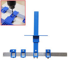 details about punch locator drill guide sleeve cabinet hardware jig drawer pull wood dowellin