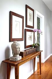 hallway desk furniture. Hallway Desk Narrow Table Modern Entry Ideas Hall With Framed Paintings Regard To Furniture S