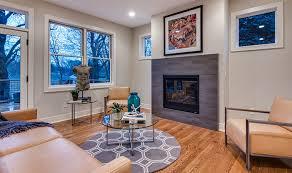 wood floor tile idea for living room