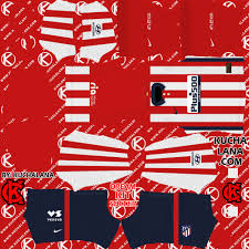 You can change your team name, boots, kits, logo and build your real dream xi team. Atletico Madrid Kits 2020 21 Dls20 Kits Kuchalana