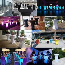 30 inch highboy cocktail round fitted stretch spandex table cover cloth for party wedding black haorui