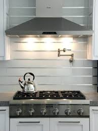stainless stove backsplash steel kitchen tiles toronto subway metal look l and stick stone metallic mosaic bathroom quilted design silver tile wall white