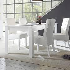 Table Manger Blanc Laqu Brillant Design Artic Table Manger