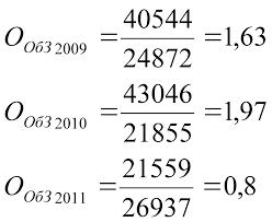 Отчет по производственной практике по специальности Финансы и  Оборачиваемость дебиторской задолженности определяемая как отношение оборота к средней величине дебиторской задолженности
