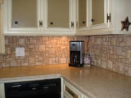 Rock Backsplash Kitchen Kitchen Dining Stone Splash Nature Backsplash For Your Kitchen