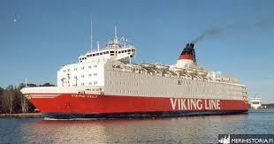 Levererad 29 juni 1980 till rederi ab sally, mariehamn, finland. Viking Sally Merihistoria Fi Vikings Viking Line Sally