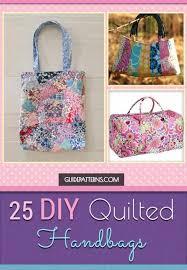 25 DIY Quilted Handbags | Guide Patterns &  Adamdwight.com