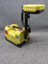 Pelican 9430 Rals Remote Area Lighting System Pelican Yellow Model 9430 Rals Remote Area Lighting System Tested Working