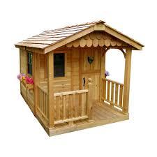 6 ft x 9 ft sunflower playhouse