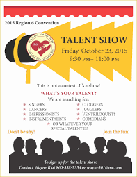 55 Free Printable Talent Show Flyer Template