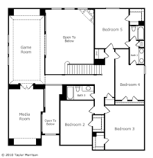 master bedroom with sitting area floor plan. Master Bedroom With Optional Sitting Area. 4 Bedrooms, 2 Baths, Gameroom And Media Room Complete The 2nd Story. There Is An Option For A 6th W/ Bath Area Floor Plan H