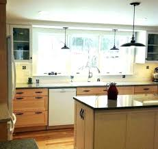 kitchen pendant lighting over sink. Pendant Light Over Sink Kitchen Lighting Wonderful Lights With And Above A