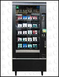 Rowe Cigarette Vending Machine Stunning Refurbished Glass Front Snack Machine