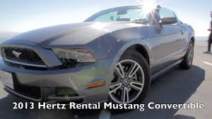 Ford Mustang 2013 Convertible Rental Full HD - YouTube