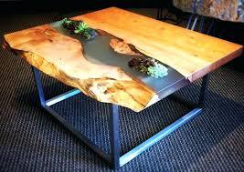 live edge coffee table live edge coffee table with pipe legs live edge coffee table to