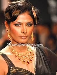 Priyanka Shah in Uncut Diamond Ruby Sets - Jewellery Designs