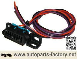 longyue factory sale obd2 obdii pigtail 3 wire connector harness automotive electrical connectors oem at 3 Wire Harness Connector