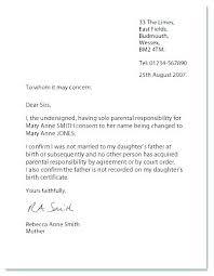 Sample Permission Letter For Traveling Child Parental Permission