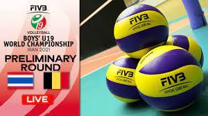 THA vs. BEL - Full Match   Group Phase   Boys U19 World Champs 2021 -  YouTube