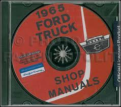 ford f500 service manuals shop owner maintenance and repair 1965 ford truck shop manual set on cd rom